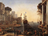 Claude Lorrain, Ulysses Returns Chryseis to her Father